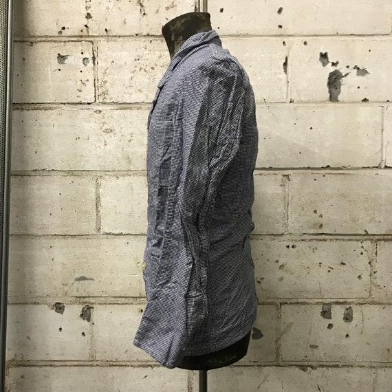 deadstock 50s butchery jacket vintage french work… - image 5