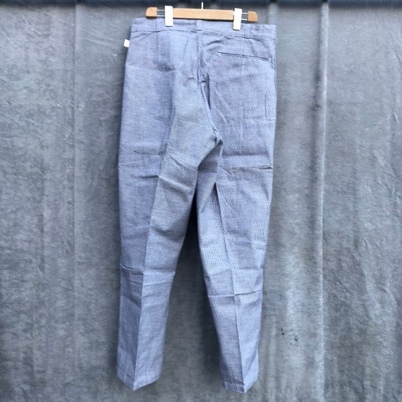 deadstock 50s butchery pants vintage french workw… - image 8
