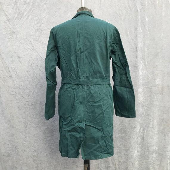 deadstock 1950s enginner coat vintage french work… - image 6