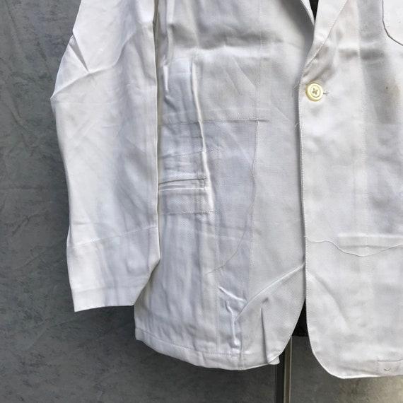 deadstock 50s french workwear barman jacket au mo… - image 3