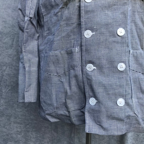 deadstock 60s butchery jacket vintage french work… - image 3