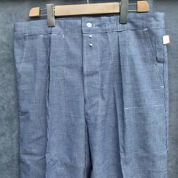 deadstock 50s butchery pants vintage french workw… - image 2