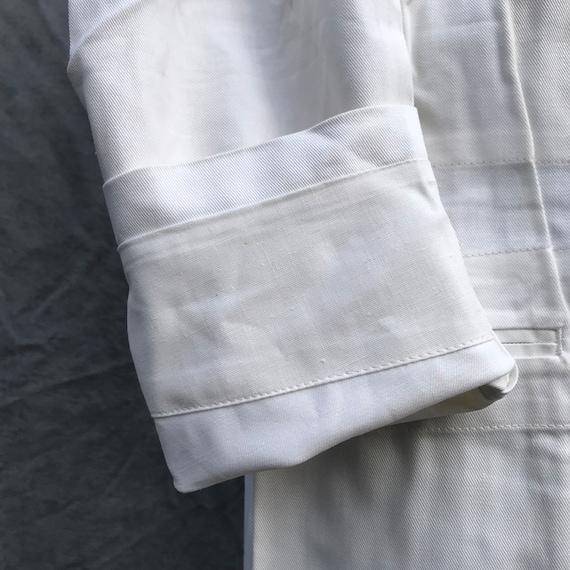 deadstock 50s french workwear barman jacket au mo… - image 6