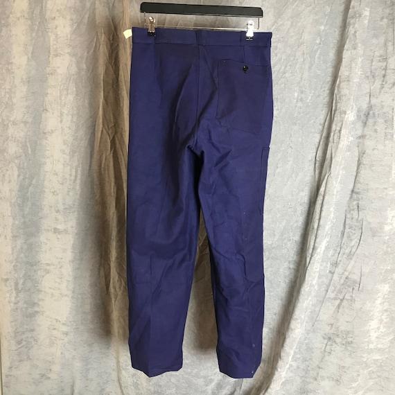 deadstock 50s catamaran pants vintage french work… - image 5