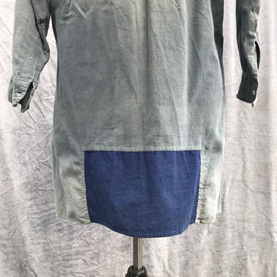 20s vintage french workwear grand pa shirt - image 7