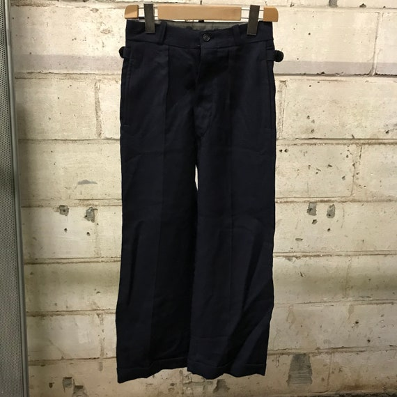 deadstock 60s pants martingale french workwear vi… - image 1