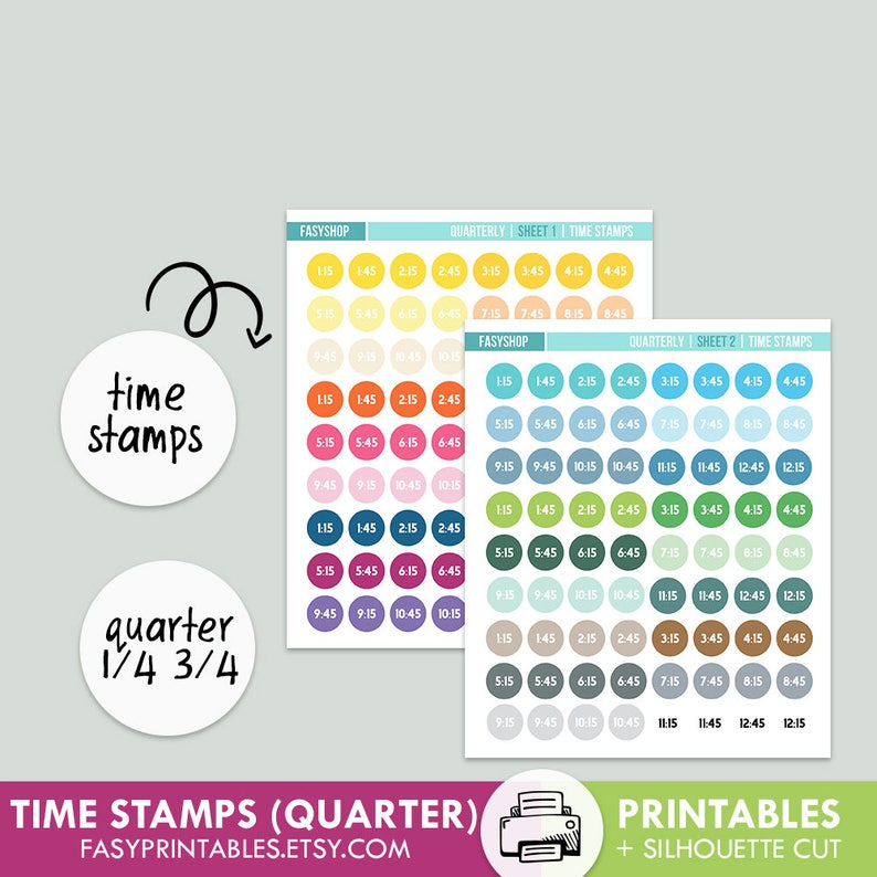 photo about Stamps Printable identified as MINI Period STAMPS - Printable Quarterly 3rd Quarter Fantastic for Hourly Eclp - printable silhouette slice record , printable sticker
