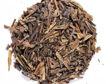 HOUJICHA | Organic Green Tea | Roasted | Loose Leaf and Tea Bags | Tea Tins | Eco-Friendly Packaging