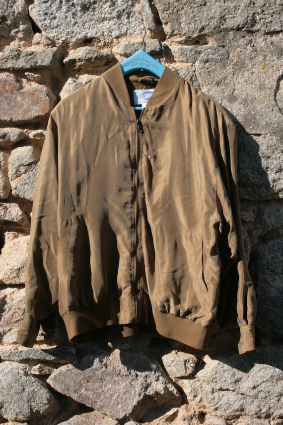 Silk Bomber Jacket - image 2