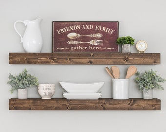 Floating Shelf, Farmhouse Shelves, Shelf, Nursery Shelf, Bathroom Shelf, Kitchen Shelves, Open Shelving, Floating Shelves