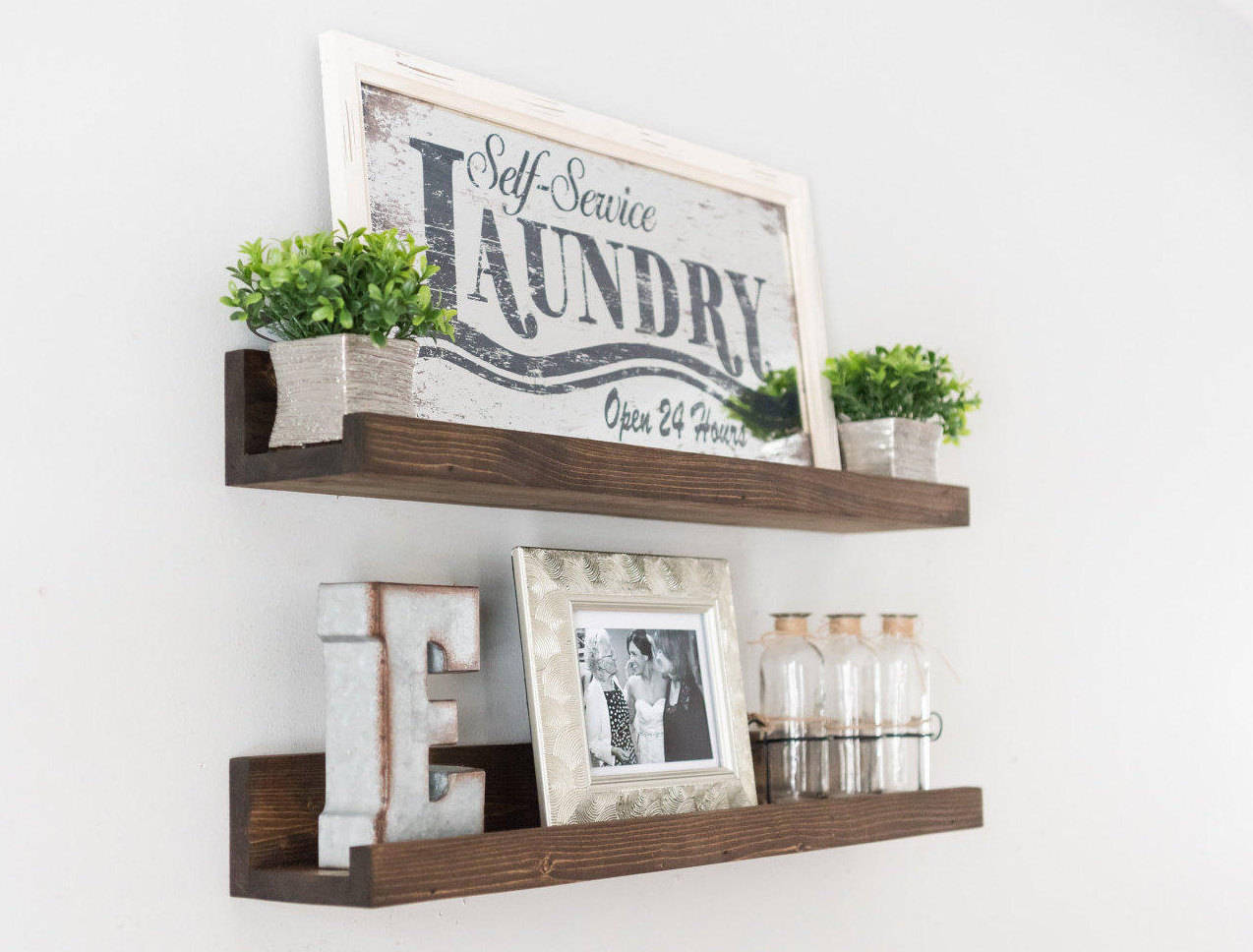 Enjoyable Free Shipping Gallery Wall Shelf Ledge Shelf Nursery Home Interior And Landscaping Oversignezvosmurscom
