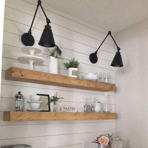 Sensational Floating Shelf Farmhouse Shelves Shelf Nursery Shelf Home Remodeling Inspirations Cosmcuboardxyz