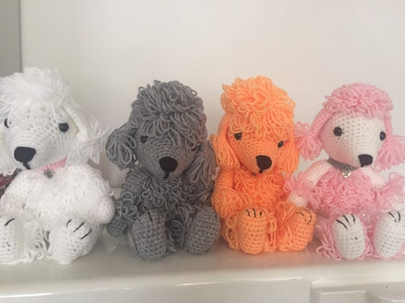 Crochet poodle