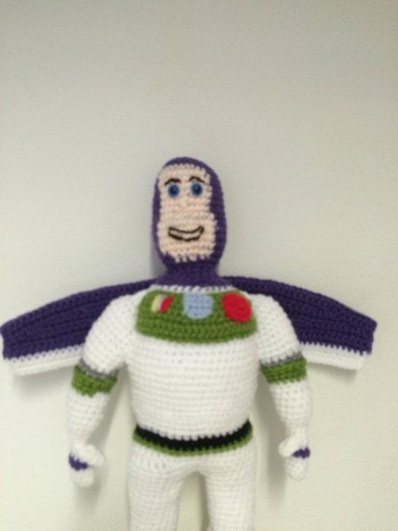 Space ranger crochet doll