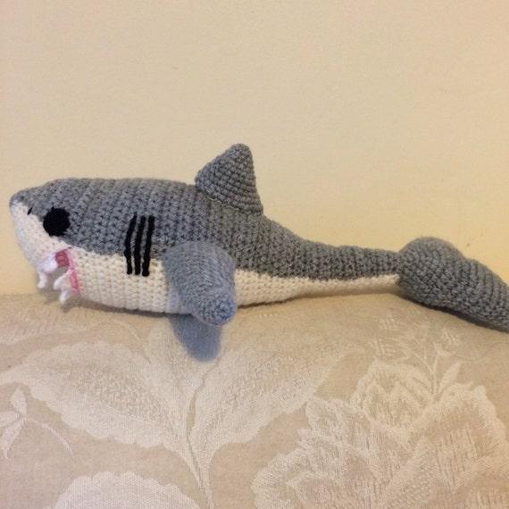 Shark hand crochet