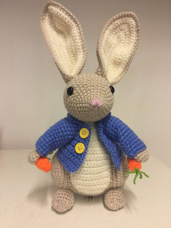 Inspired by Peter Rabbit crochet bunny