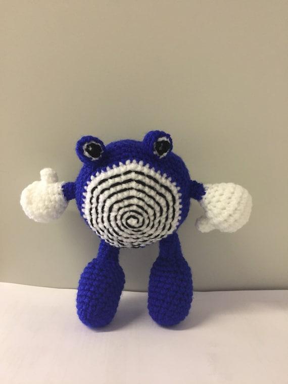 Anime crochet character