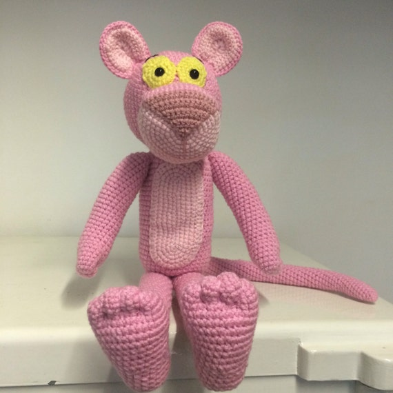 Panther hand crochet character