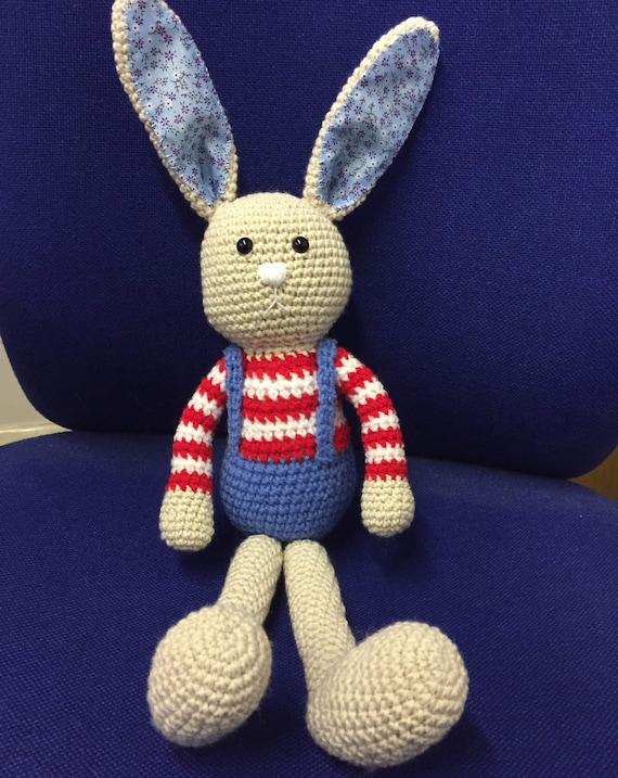 Boy bunny crochet
