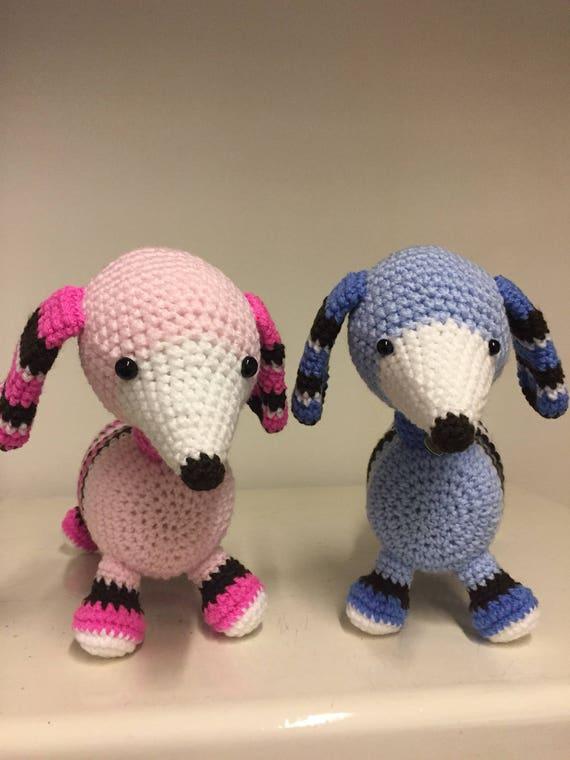 Dachshunds hand crochet