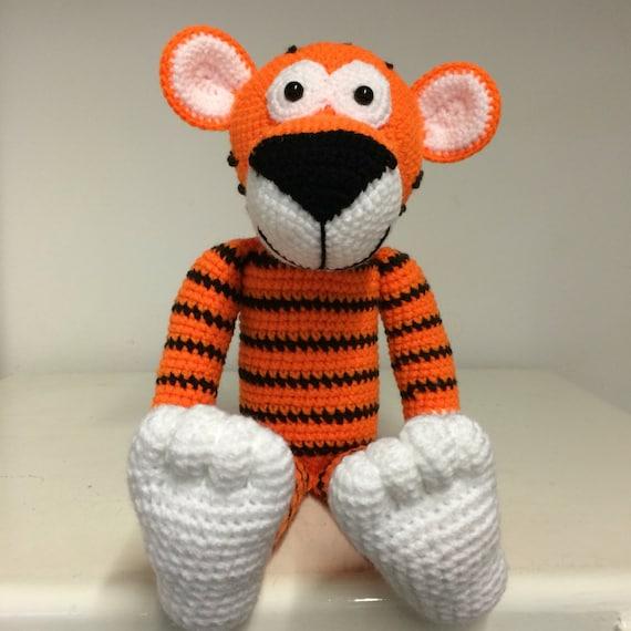 Cute hand crochet Tiger