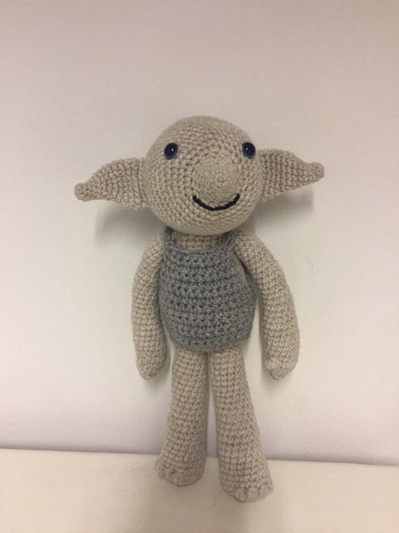 House elf hand crochet