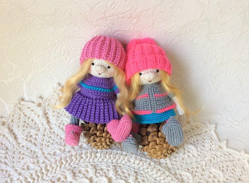 MinIMEu : Crochet mini doll pattern - InArt - Amigurumi Crochet Dolls -  doitory - doitory | 583x794