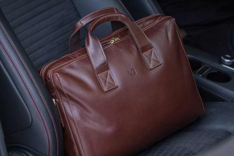 1718bfbb4d Leather Briefcase Brown Leather Briefcase Mens Leather