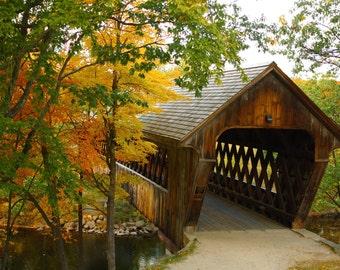 Henniker Covered Bridge - Henniker, New Hampshire