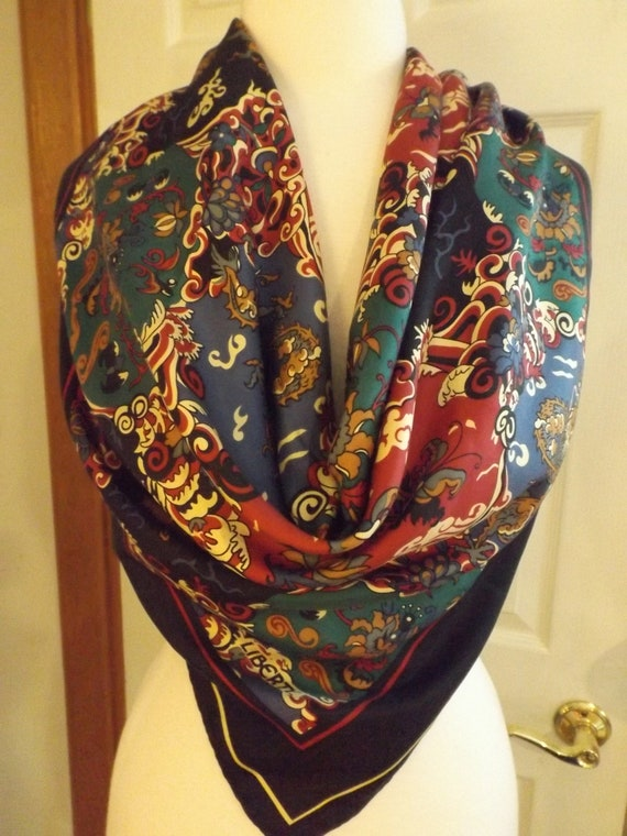 Gorgeous Liberty of London Multi Colored Scarf, Re