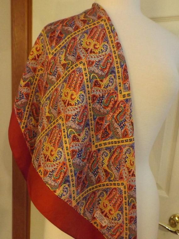 Liberty of London Abstract Silk Designer Scarf, Na
