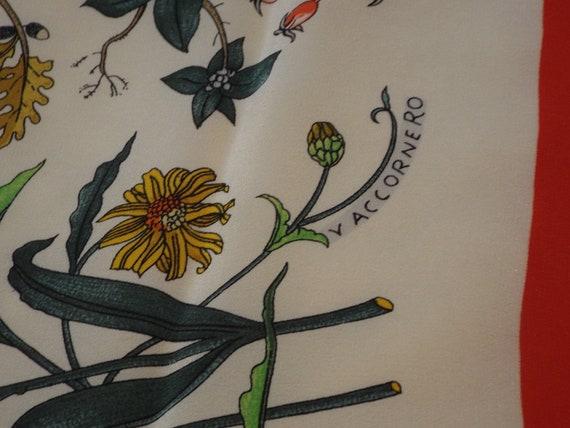 Authentic GUCCI ACCORNERO Floral Scarf, Gucci Mad… - image 8