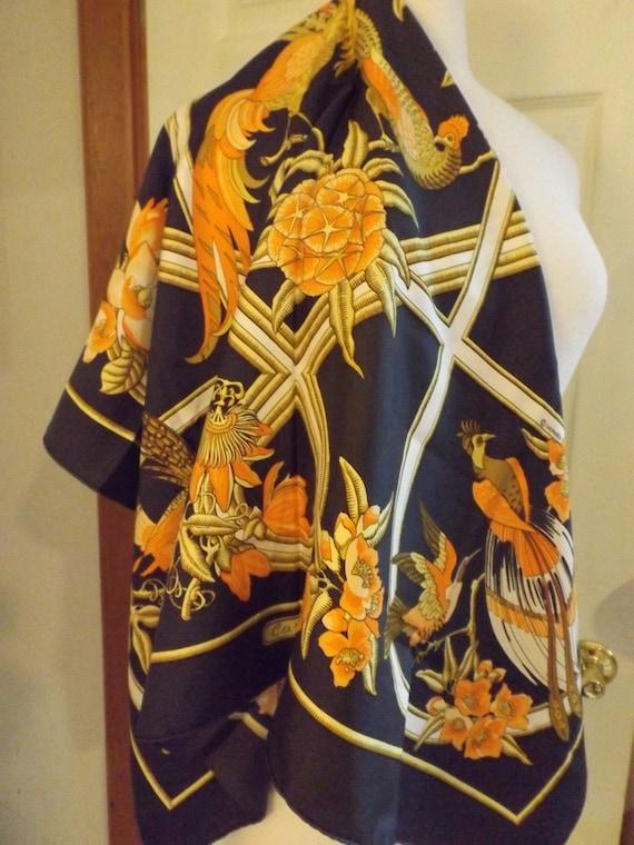 Authentic Hermès Caraibis Scarf, Luxury  Scarf, Gi