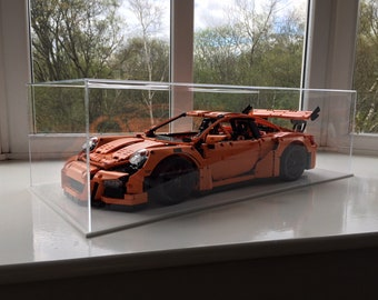 Lego Porsche 911 GT3RS Acrylic Display Case