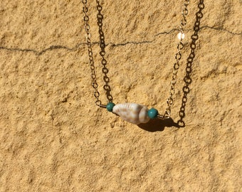 Gold plated Ariel necklace