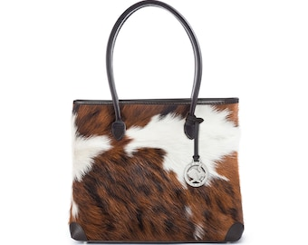 Cowhide Bags | Cowhide Handbags | The Foxley | Handcrafted in England