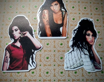 Amy Winehouse Sticker Set