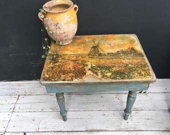 Ode to monet occasional table