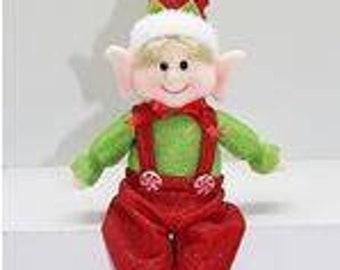 christmas elf etsy