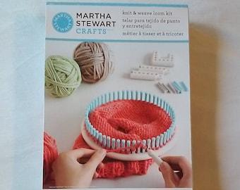 Martha Stewart Crafts Knit and Weave Loom Kit - Brand New