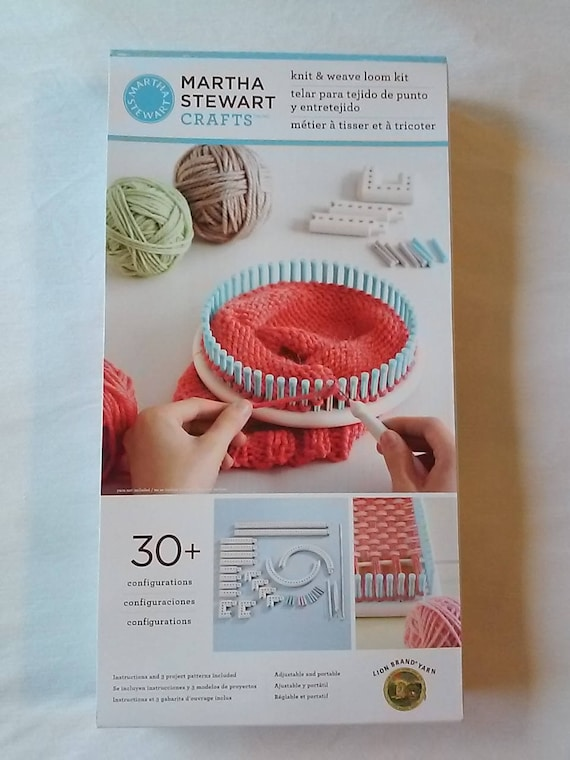 Martha Stewart Crafts Knit And Weave Loom Kit Brand New Etsy