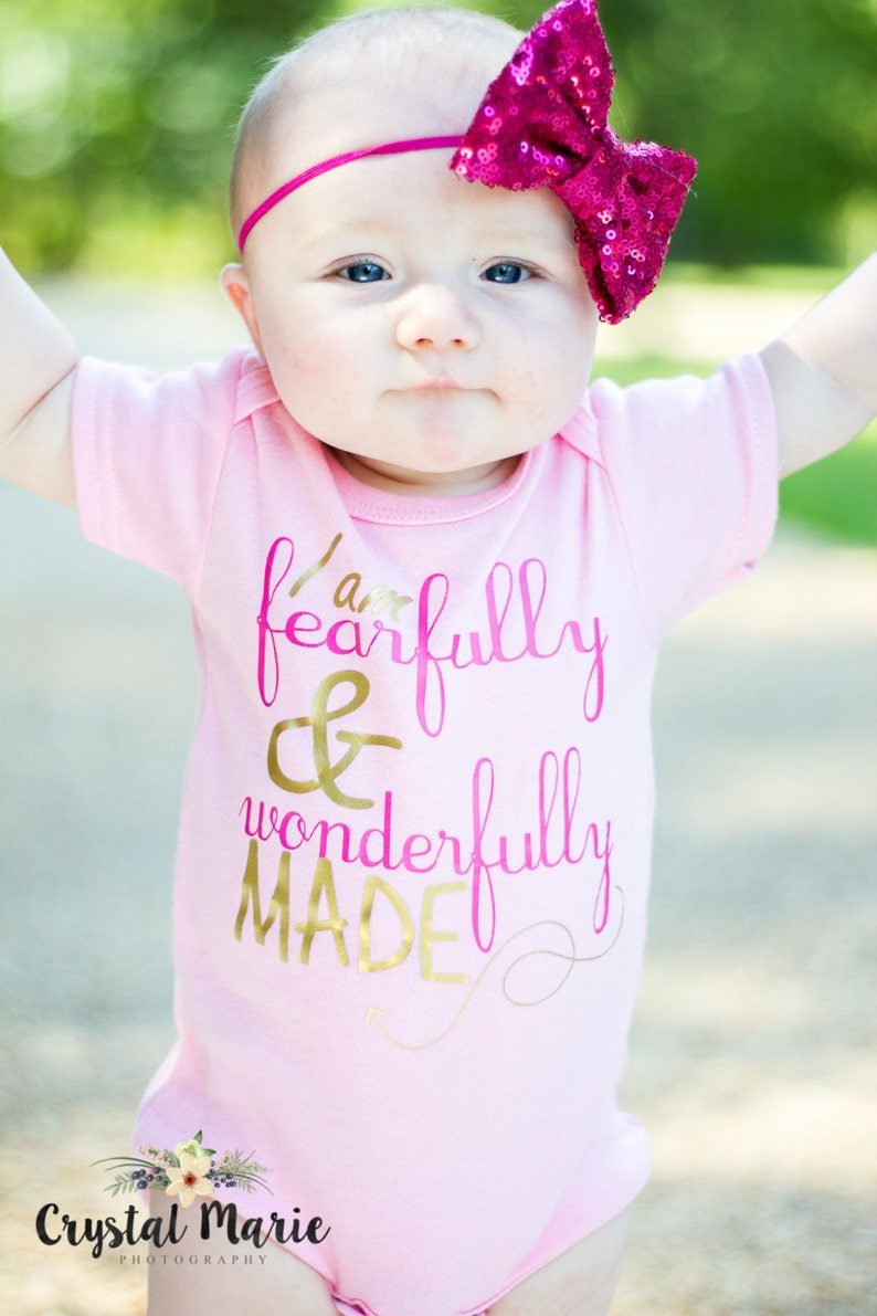 Personalized Newborn Pink gown or onesie girl gift coming home image 0