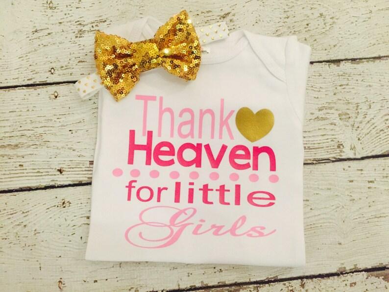 Newborn baby bodysuit or gown Baby girl  Baby shower gift image 0