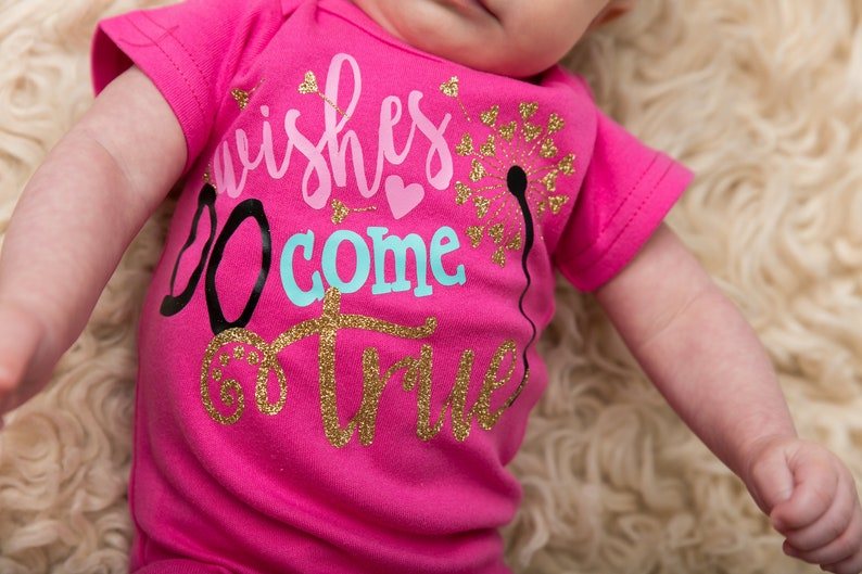 Newborn Girl Coming Home Outfit Baby Girl  Wishes Do Come image 0