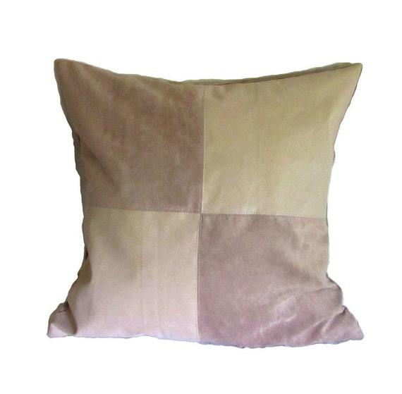 Faux Leather Suede Pillows Faux Leather Pillow Decorative Etsy Mesmerizing Faux Leather Pillows Decorative Pillows