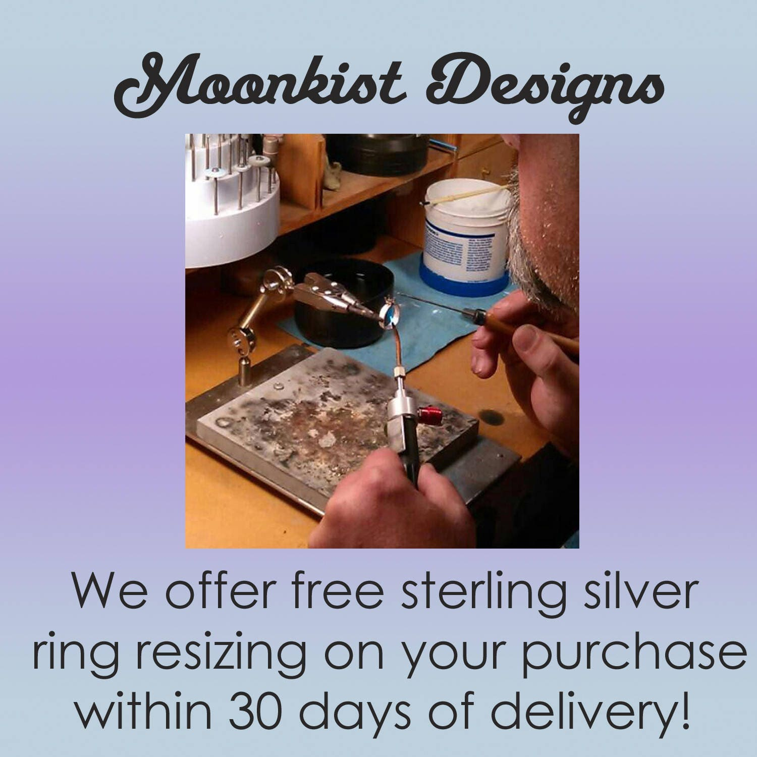 Ring Resizing Sterling Silver Resize Service Sterling