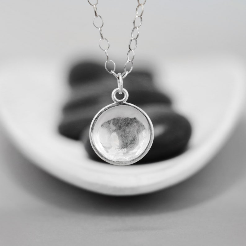 Silver Opal Necklace Moonkist Gallery October Birthstone Necklace Sterling Silver White Opal Pendant Dainty Opal Necklace