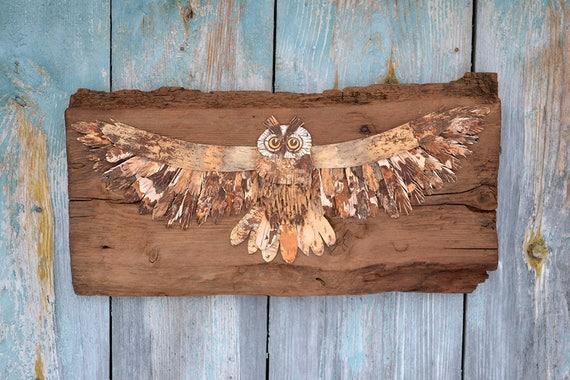 Owl Home Decor Owl Decoration Owl Artwork Owl Decor Owl   Etsy