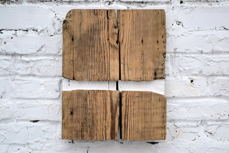 Original Wood Wall Decoration Rustic Barn Wood Art Barnwood Etsy