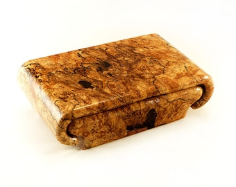 Spalted Maple Burl Box